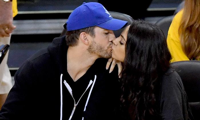 Ashton Kutcher revela cómo fue su primer beso con Mila Kunis cuando ella tenía 14 años