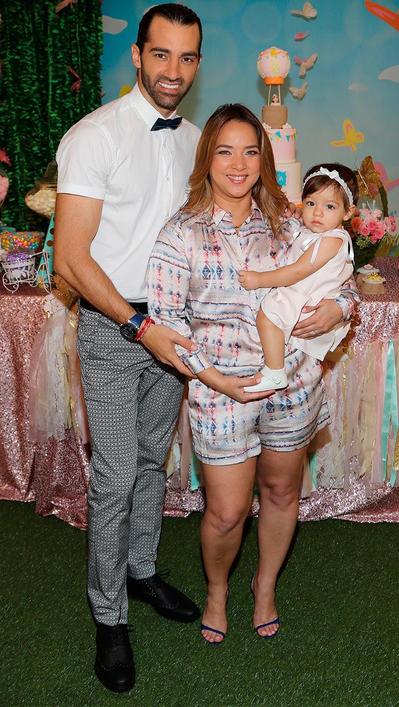 Alaïa, hija de Adamari López, y la muestra más clara del talento que heredó de su padre, Toni Costa