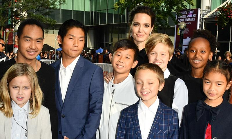 Antes y después! Repasamos cómo han crecido los hijos de Angelina Jolie -  Foto 1
