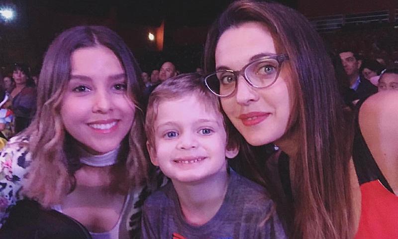 Modern Family\': Horacio Pancheri, su hijo, su novia y la mamá del ...