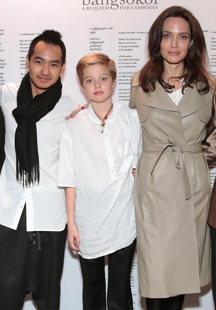 Shiloh Jolie-Pitt y su regreso a la alfombra junto a su ...