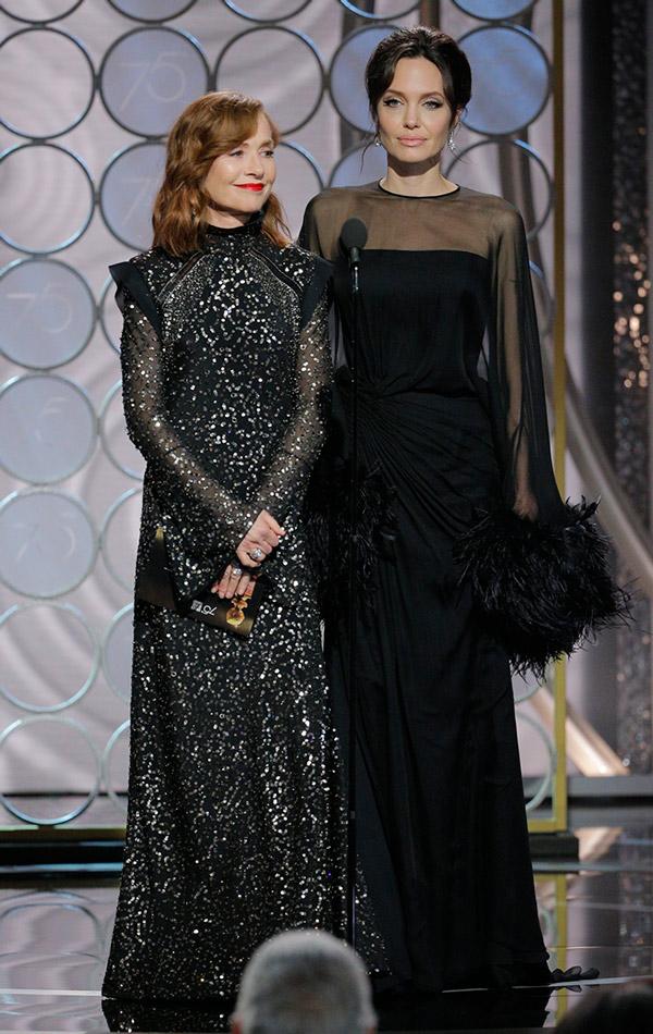 Angelina Jolie Y Jennifer Aniston As 237 Fue El Reencuentro