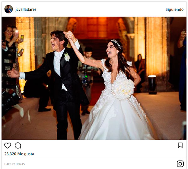 Matrimonio Ximena Navarrete : Ximena navarrete y juan carlos valladares celebran su primer año