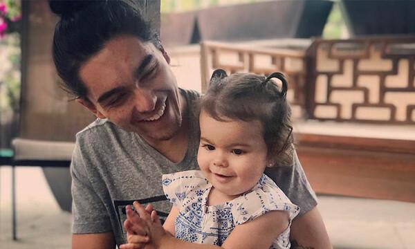 ¡Diversión padre e hija! Bárbara Mori comparte la foto de