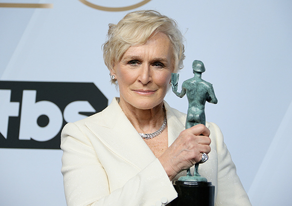 Glenn Close, The Wife