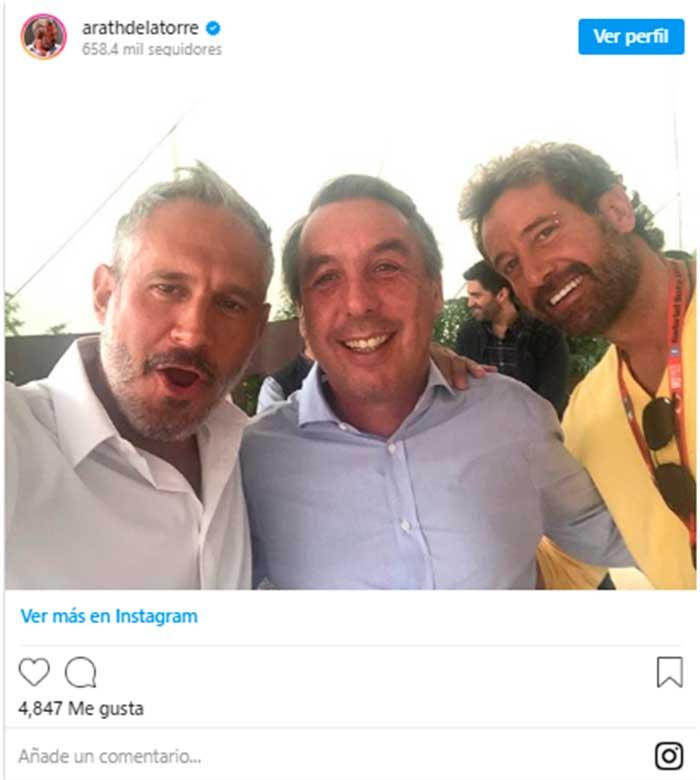Emilio Azcárraga, El Más Divertido En La Celebración Para Las Estrellas De Televisa