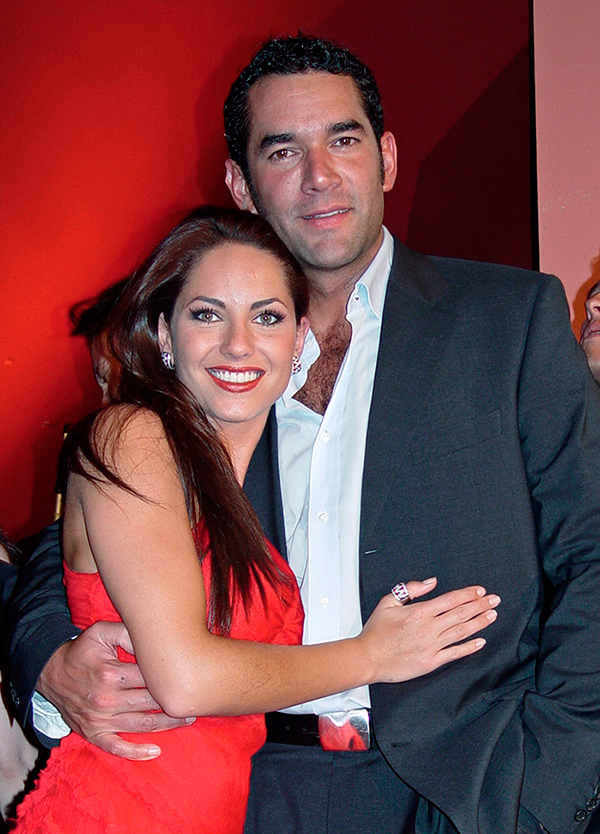 Bárbara Mori y Eduardo Santamarina