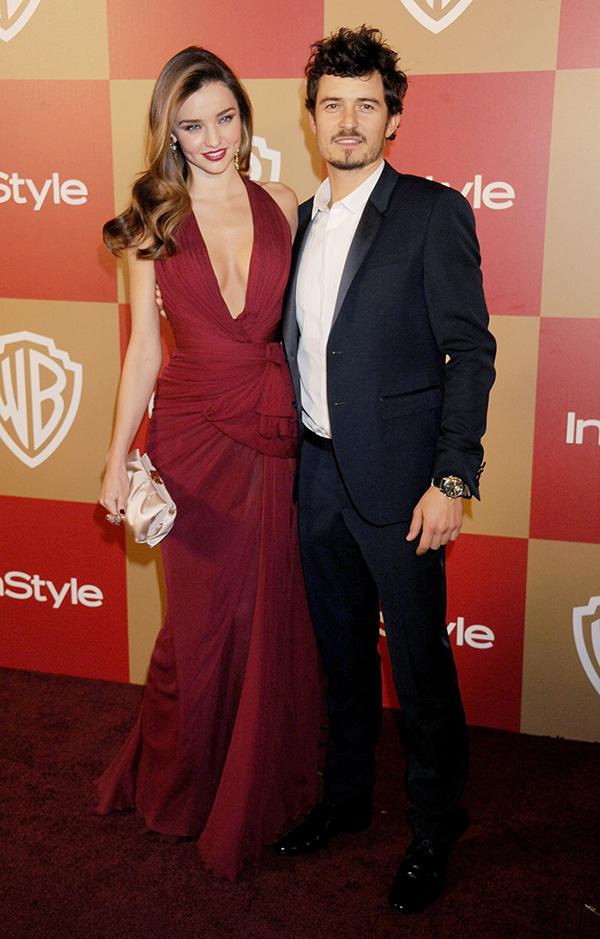 Miranda Kerr and Orlando Bloom