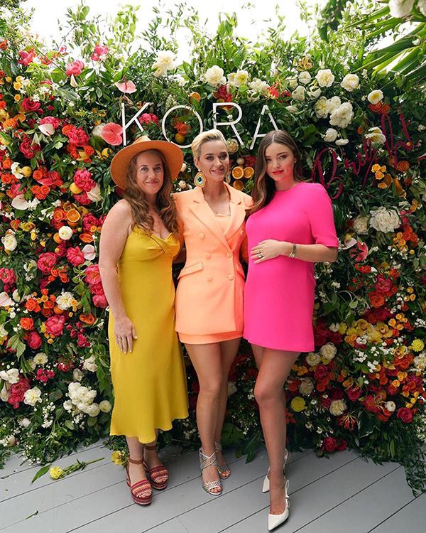 Miranda Kerr and Katy Perry