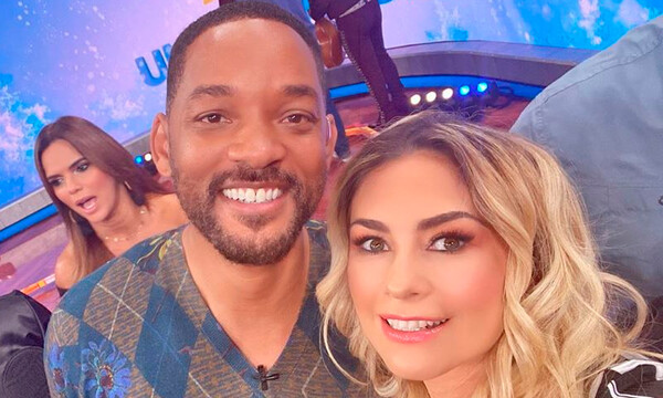 Will Smith y Aracely Arámbula