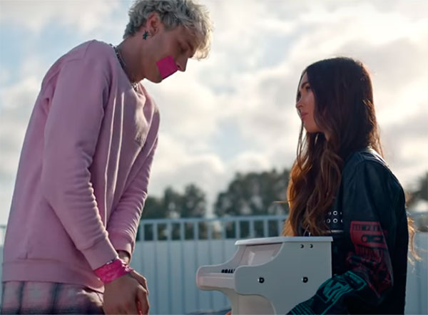 Meghan Fox y Machine Gun Kelly