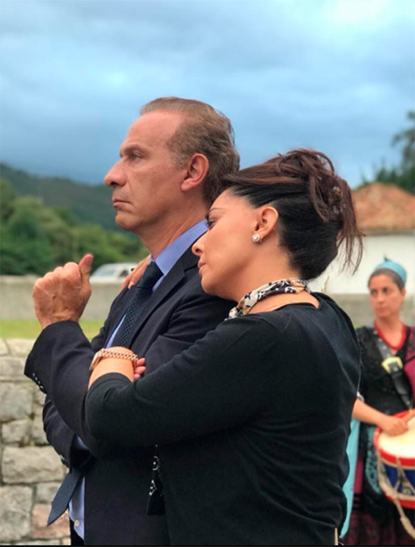 Yadhira Carrillo y Juan Collado