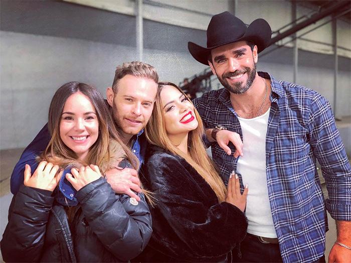 Camila Sodi, Luis Ernesto Franco, Marcus Ornellas.