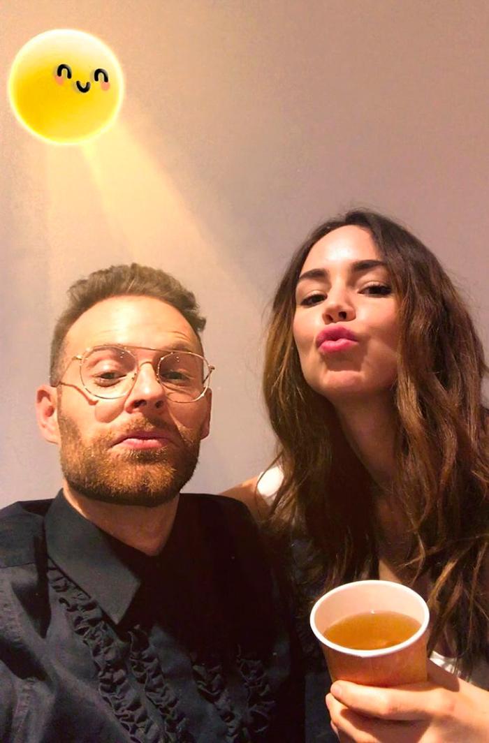 Luis Ernesto Franco y Camila Sodi