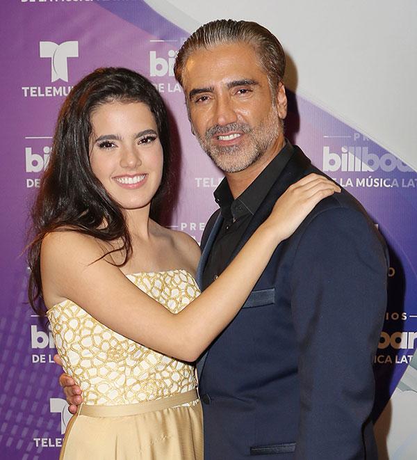 Alejandro Fernández revela el nombre de su nieta