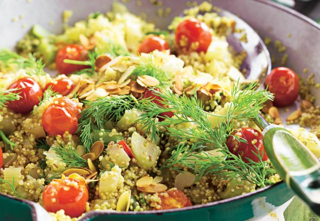 Hace cu nto que no tomas un tomate que sabe de verdad a for Cuanto se cocina la quinoa