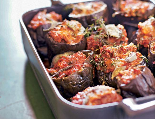 Cocina con verduras pimientos berenjenas alcachofas for Cocina berenjenas rellenas