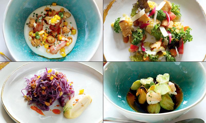 Alta cocina vegetal platos de verdura que son pura for Platos de alta cocina