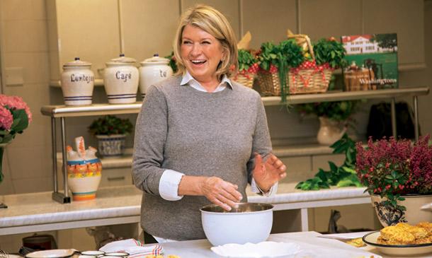 Martha stewart clase maestra de cocina en la embajada de - Martha stewart decoracion ...