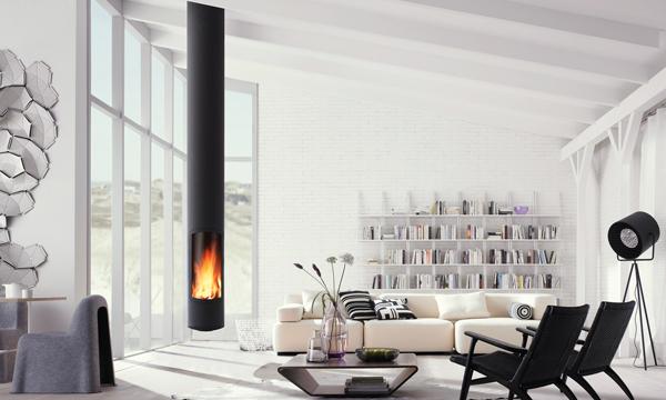 Chimeneas al calor del fuego - Fuego decorativo para chimeneas ...
