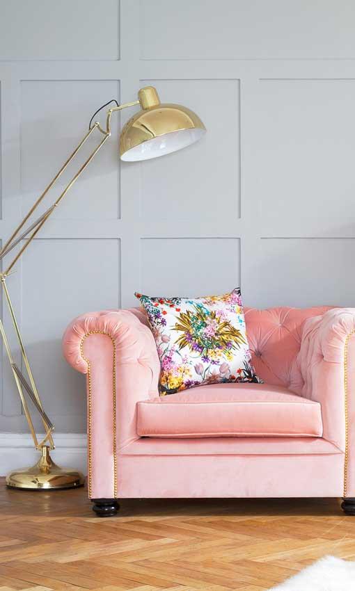 La casa se viste de rosa foto for Casa decoracion willow