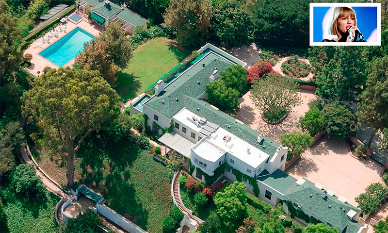 Taylor swift compra la mansi n de samuel goldwyn en for La mansion casa hotel telefono