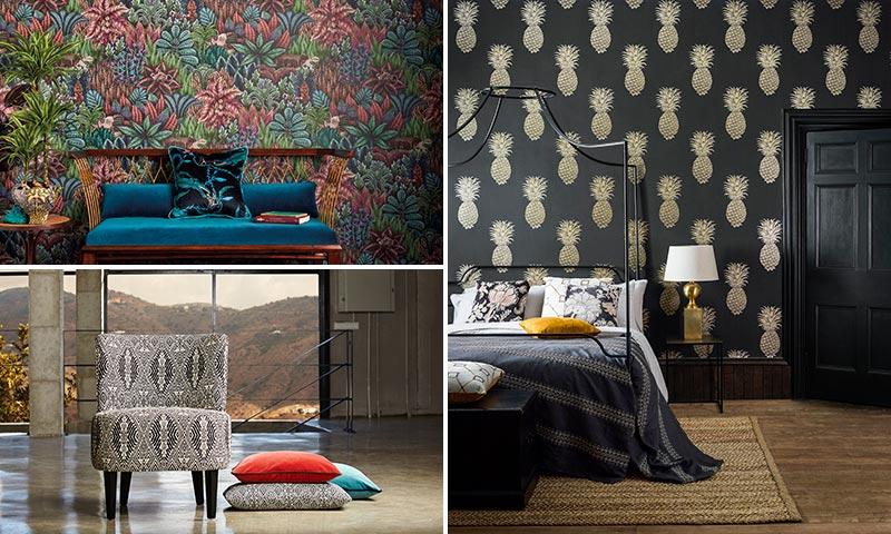 Estas telas y papeles pintados vestir n tu casa este a o - Decoracion papeles pintados ...