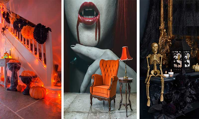 Ideas con estilo para decorar tu casa la noche m s - Decoracion halloween 2017 ...