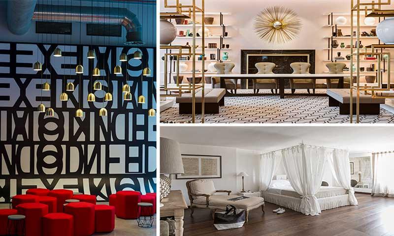 39 tour deco 39 hoteles con una decoraci n y un interiorismo for Hoteles diseno milan