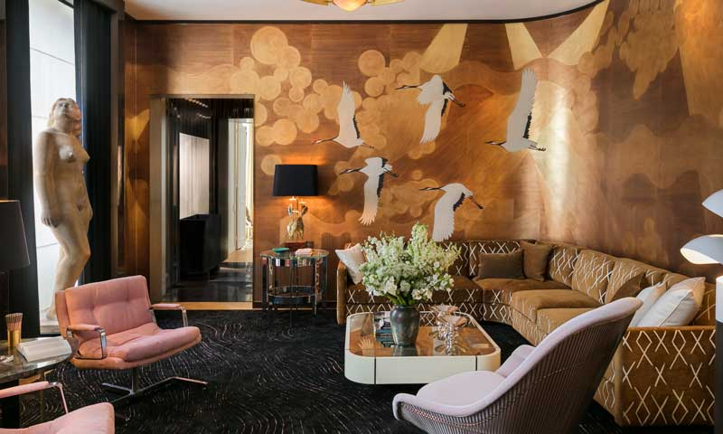 Estos papeles pintados vestir n tu casa esta temporada foto 1 - Maison decor papeles pintados ...