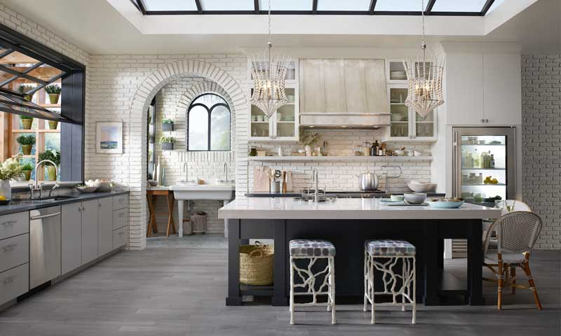 13 ideas para colocar baldas en la cocina que lograr n - Baldas de diseno ...