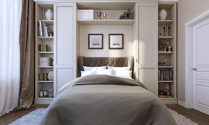 Ideas para decorar dormitorios peque os foto - Como amueblar un dormitorio pequeno ...