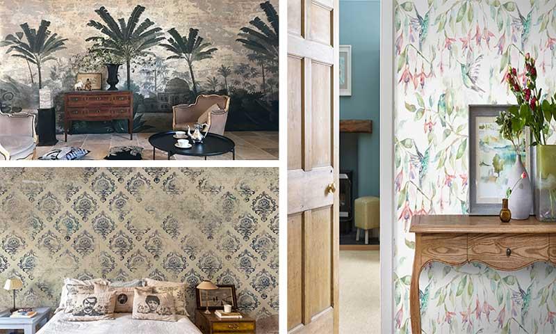 Estos son los papeles pintados que vestir n tus paredes esta temporada foto - Maison decor papeles pintados ...