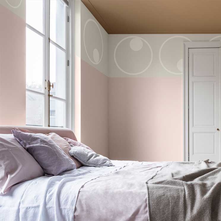 Decoraci n dormitorios 10 colores de tendencia para for Papel pintado para pintar castorama