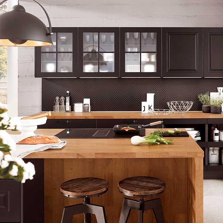 Cocinas modernas muebles de cocina con mucho estilo y - Fotografias de cocinas ...