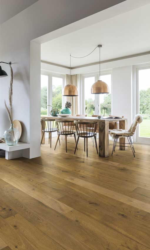 Suelos madera: 13 'looks' de tendencia para el clásico con ...