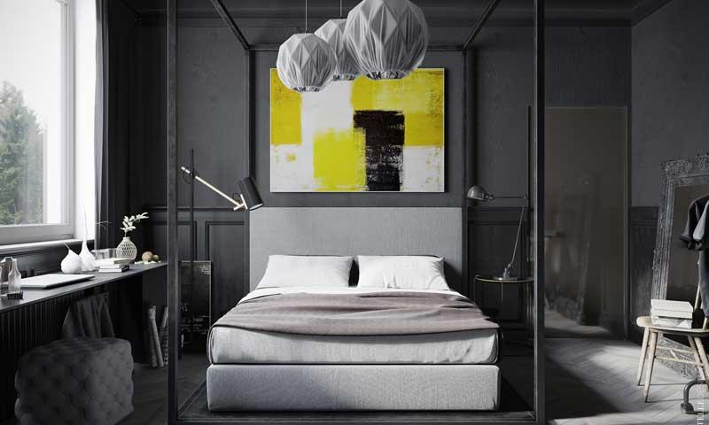 Renovar el dormitorio 4. Crea el efecto galería