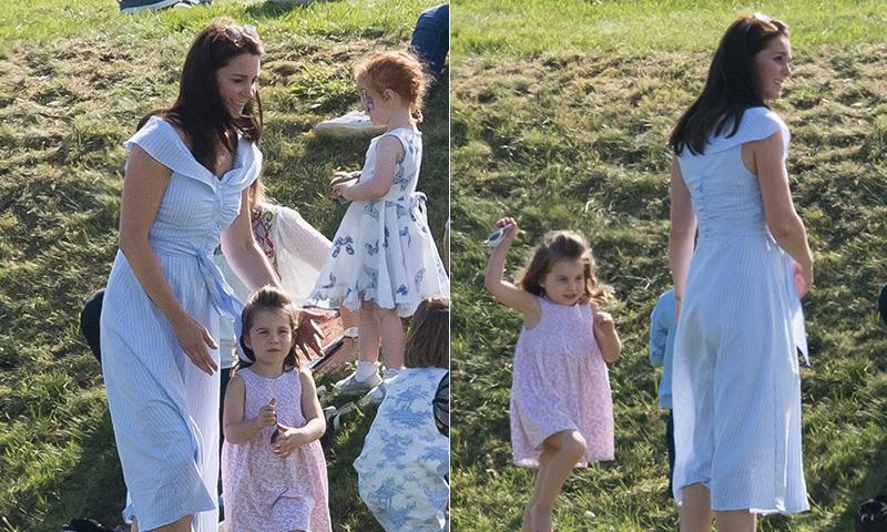 Vestido azul rayas blancas zara