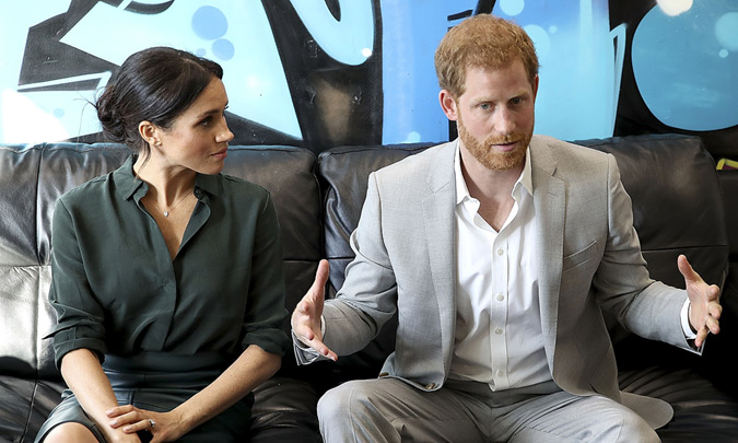 El príncipe Harry, contundente y sincero sobre su regreso al mundo virtual con Meghan Markle