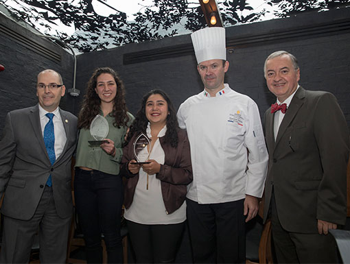 Evento de premiación del concurso Ultimate Culinary Clash