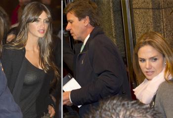 Genoveva Casanova, Cayetano Martínez de Irujo y Sara Carbonero, ¿quién dijo que el martes no es día de fútbol?