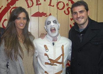 Sara Carbonero vive su noche más terrorífica junto a Iker Casillas
