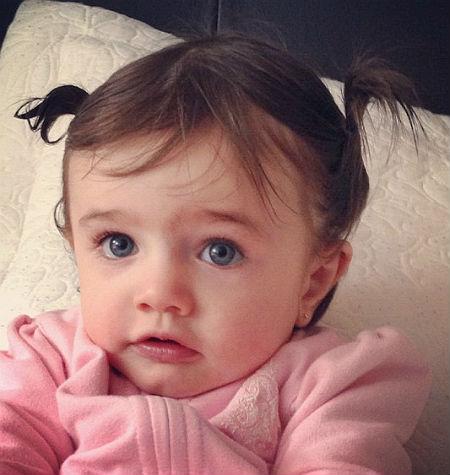Bárbara, la pequeña de Maggie Hegyi cada día más parecida ... Jaime Camil Y Su Hija