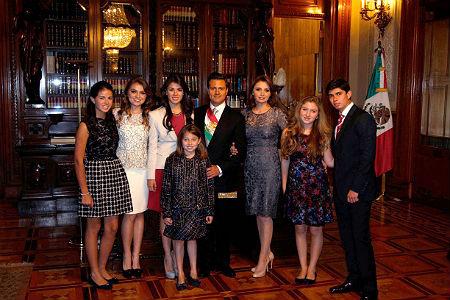 Familia Peña-Rivera