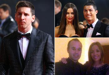 Sara Carbonero, Irina Shayk... causan sensación en la gala del Balón de Oro