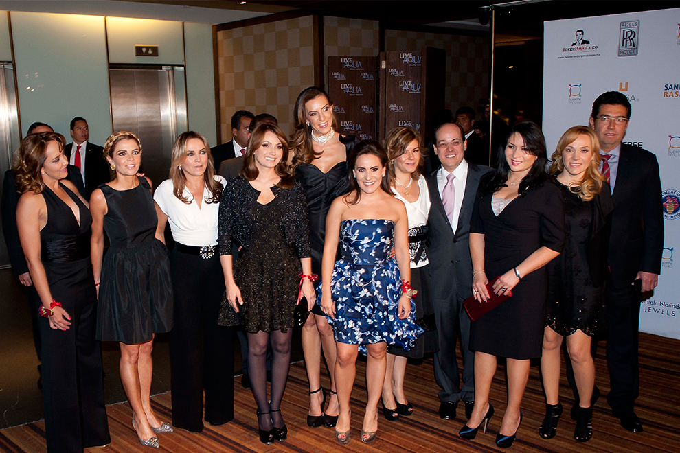 Angélica Rivera brilla en noche benéfica junto a invitados de lujo