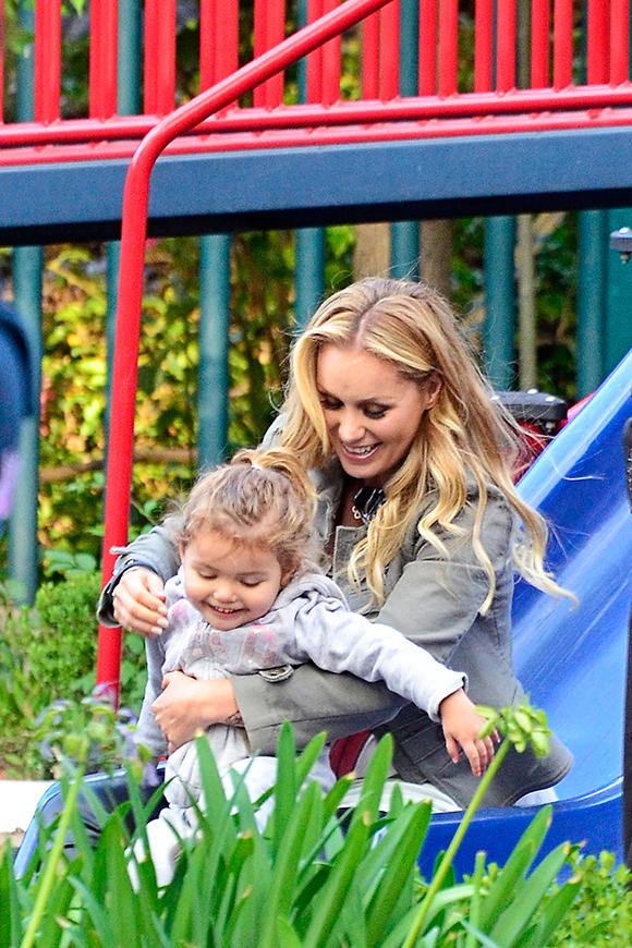 Heidi Balvanera, una mamá con mucha energía y mucho estilo Jaime Camil Y Su Hija