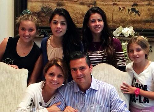 Enrique Pea Nieto Familia En familia , enrique peña nieto celebra su ...