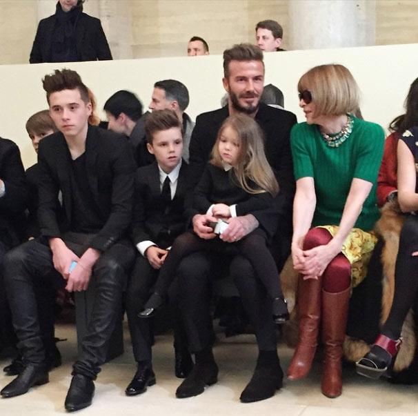 Harper Beckham, protagonista indiscutible de la semana de la moda de NY