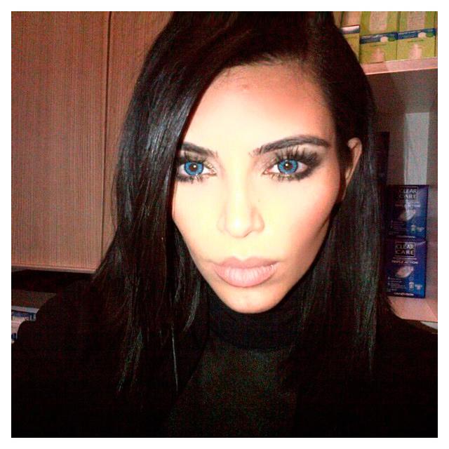 Kim Kardasihan Y Kanye West Otro Arriesgado Look Que